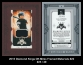 2015 Diamond Kings DK Minis Framed Materials #22