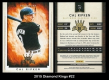 2015 Diamond Kings #22