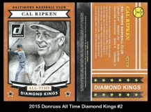 2015 Donruss All Time Diamond Kings #2