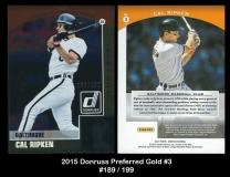 2015 Donruss Preferred Gold #3