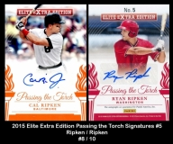 2015 Elite Extra Edition Passing the Torch Signatures #5