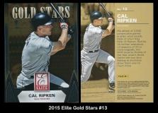 2015 Elite Gold Stars #13