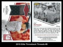 2015 Elite Throwback Threads #9
