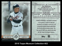 2015 Topps Museum Collection #22