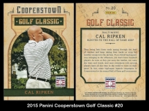 2015 Panini Cooperstown Golf Classic #20