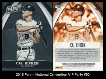 2015 Panini National Convention VIP Party #60