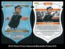 2015 Panini Prizm Diamond Marshalls Prizms #15
