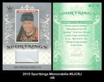 2015 Sportkings Memorabilia #SJCRJ