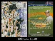 2015 Stadium Club #33