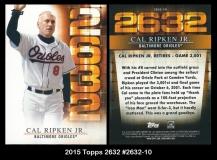 2015 Topps 2632 #2632-10