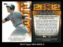 2015 Topps 2632 #2632-2