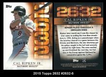 2015 Topps 2632 #2632-6