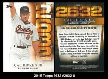 2015 Topps 2632 #2632-8