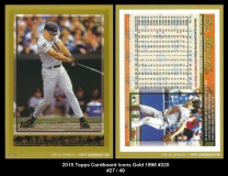 2015 Topps Cardboard Icons Gold 1988 #320