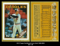 2015 Topps Cardboard Icons Gold 1988 #650