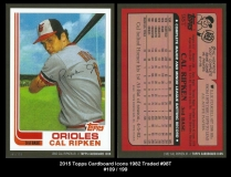 2015 Topps Cardboard Icons 1982 Traded #98T