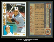 2015 Topps Cardboard Icons 1984 #490