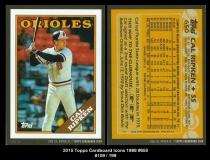 2015 Topps Cardboard Icons 1988 #650
