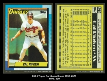 2015 Topps Cardboard Icons 1990 #570