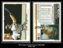 2015 Topps Cardboard Icons 1995 #588