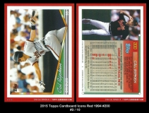 2015 Topps Cardboard Icons Red 1994 #200