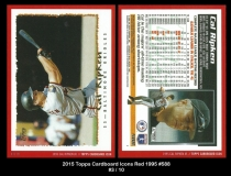 2015 Topps Cardboard Icons Red 1995 #588