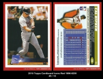 2015 Topps Cardboard Icons Red 1996 #200