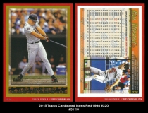 2015 Topps Cardboard Icons Red 1998 #320