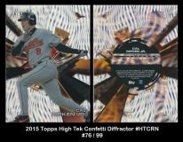 2015 Topps High Tek Confetti Diffractor #HTCRN