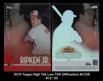 2015 Topps High Tek Low TEK Diffractors #LTCR