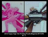 2015 Topps High Tek Printing Proofs Magenta #HTCRN