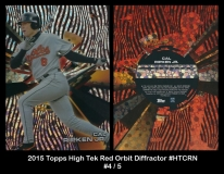 2015 Topps High Tek Red Orbit Diffractor #HTCRN