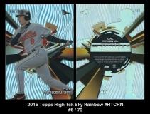 2015 Topps High Tek Sky Rainbow #HTCRN