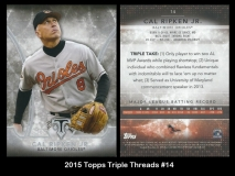 2015 Topps Triple Threads #14