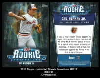 2015 Topps Update 5x7 Rookie Sensations #RS17