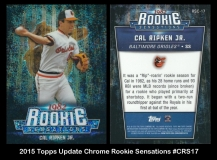 2015 Topps Update Chrome Rookie Senesations #CRS17