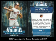 2015 Topps Update Rookie Sensations #RS17