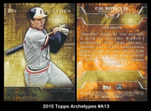2015 Topps Archetypes #A13