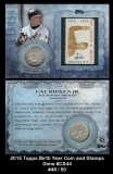 2015 Topps Birth Year Coin and Stamps Dime #CS44