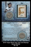 2015 Topps Birth Year Coin and Stamps Nickel #CS44