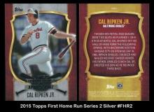 2015 Topps First Home Run Series 2 Silver #FHR2