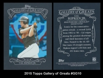 2015 Topps Gallery of Greats #GC10