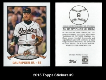 2015 Topps Stickers #9