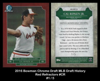 2016-Bowman-Chrome-Draft-MLB-Draft-History-Red-Refractors-CR