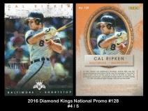 2016 Diamond Kings National Promo #128