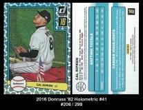 2016 Donruss '82 Holometric #41