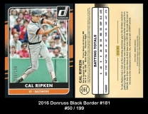 2016 Donruss Black Border #181