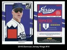 2016 Donruss Jersey Kings #14