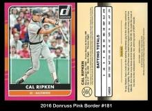 2016 Donruss Pink Border #181