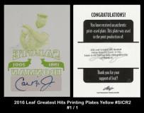 2016-Leaf-Greatest-Hits-Priniting-Plates-Yellow-SICR2